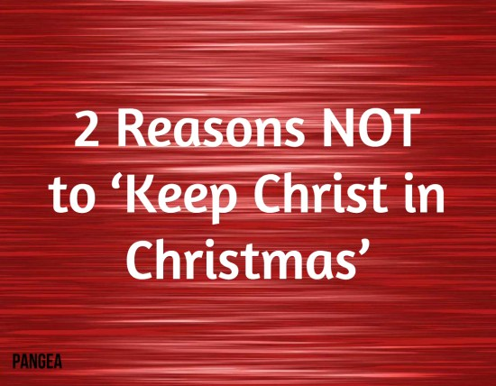 2 reasons not christmas