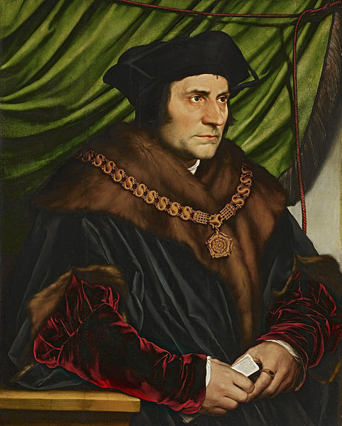 Sir Thomas More, Hans Holbein, the Younger.