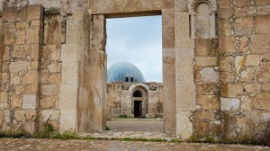 Umayyad Palace (720AD), the Citadel, Amman, Jordan Image credit: Connor Eberhart
