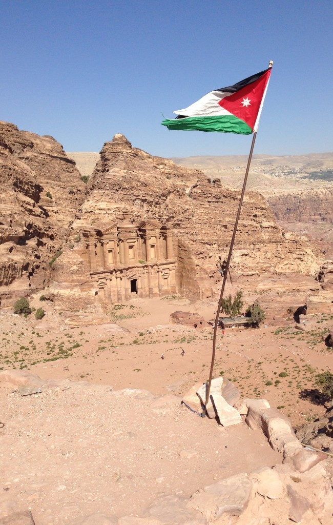 Looking down on The Monastery, Petra