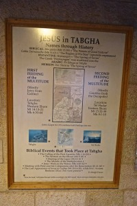 Jesus accomplished a lot in Tabgha.