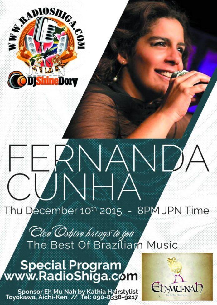 Flyer Fernanda Cunha Red