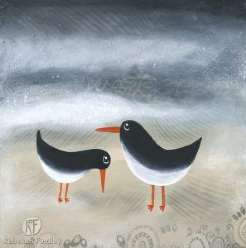 Oyster Catchers - SOLD