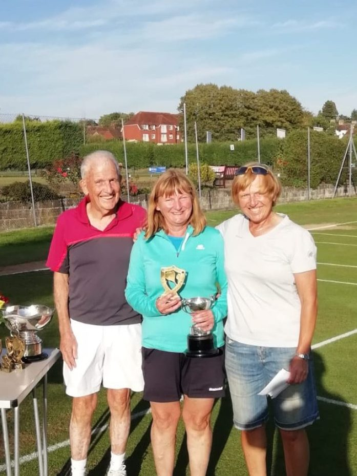 Hilary Austin, Winner Ladies Handicap 2018