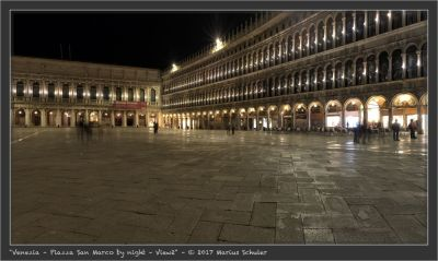 Venezia – Piazza San Marco by night – View2