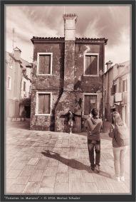 Posieren in Murano