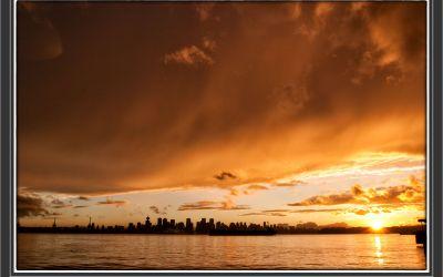 2017-13: Vancouver – Sonnenuntergang auf dem Seabus