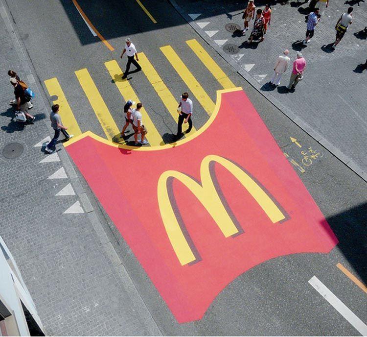 street marketing ejemplos