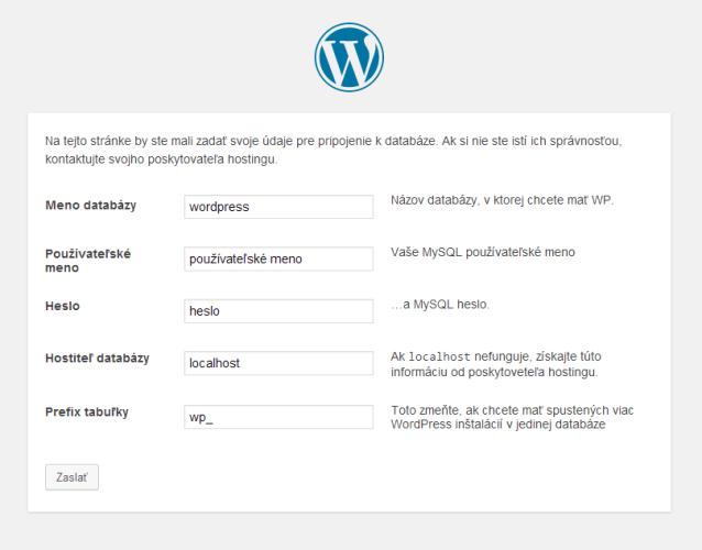 Návod na inštaláciu WordPress