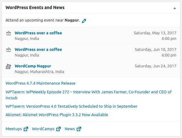 WordPress novinky a podujatia vo WordPress 4.8