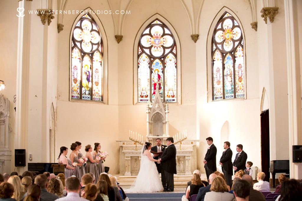 Emotional Wedding Photographs Sacred Heart Music Center Duluth