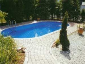 Stål swimmingpool