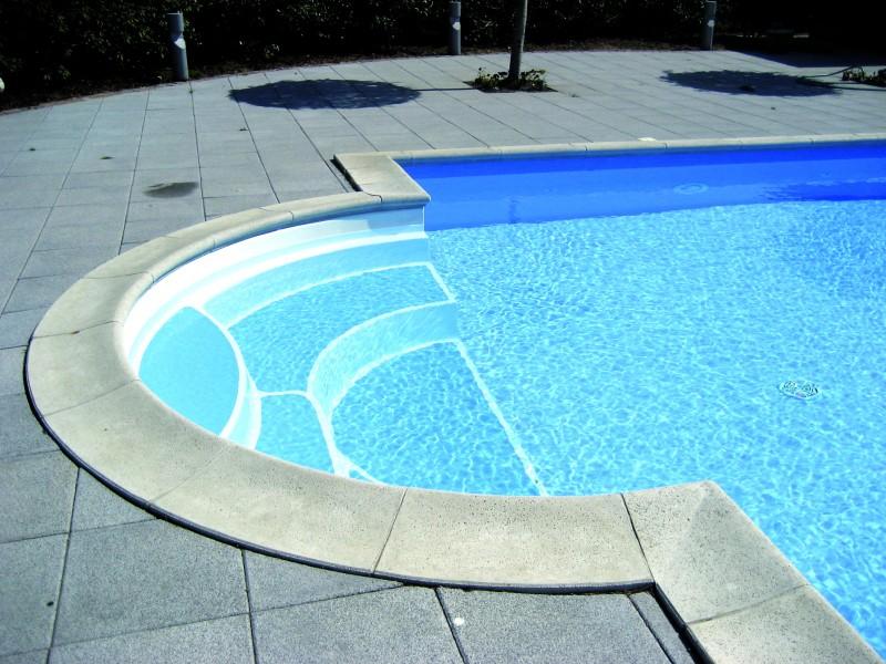 Kantfliser pool
