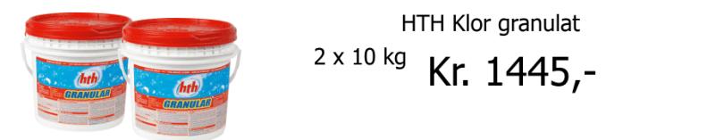 HTH klor granulat | kemikalier