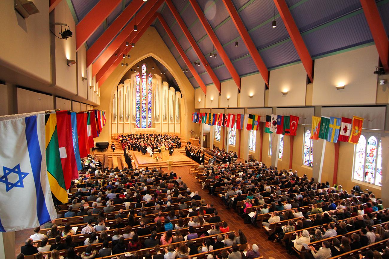 Honors Day '13 -Boe Chapel – 3
