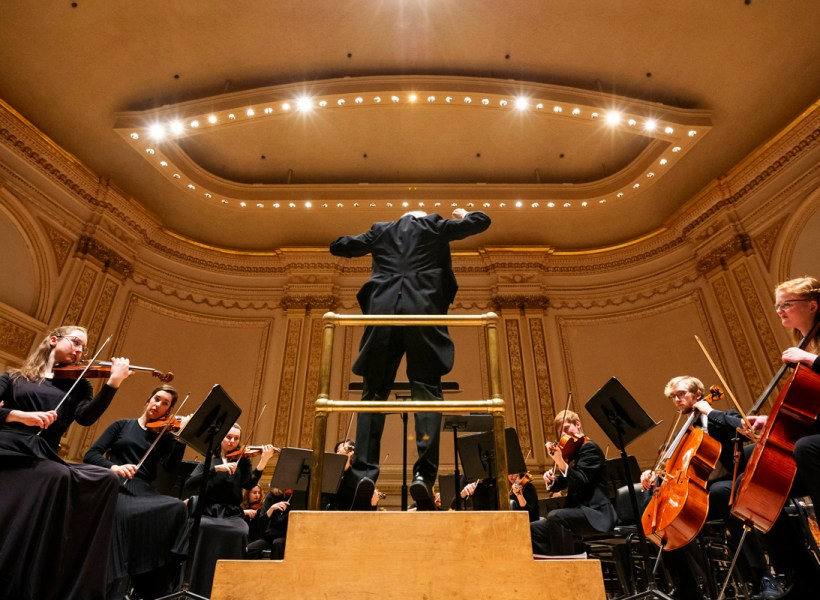 St Olaf Orchestra At Carnegie Hall