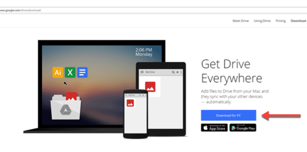 Install Google Drive on Windows 10 Desktop – Information