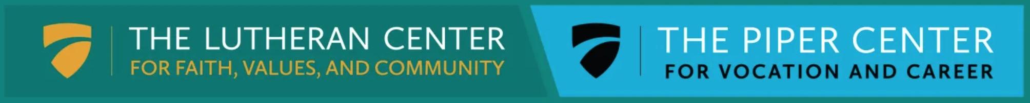 Piper Center and Lutheran Center logos