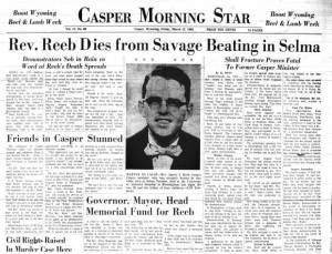 James Reeb's murder garnered national media attention and inspired a wave of protests, memorial services, and calls for federal action.