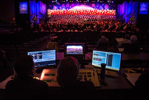 Streaming Christmas Music.A Behind The Scenes Look At Live Streaming The Christmas