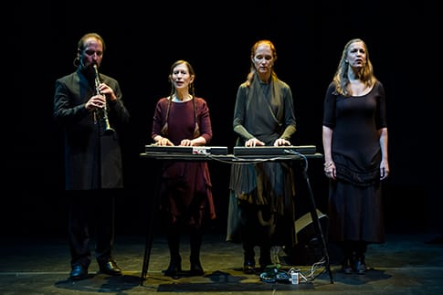 Meredith Monk with Vocal Ensemble members