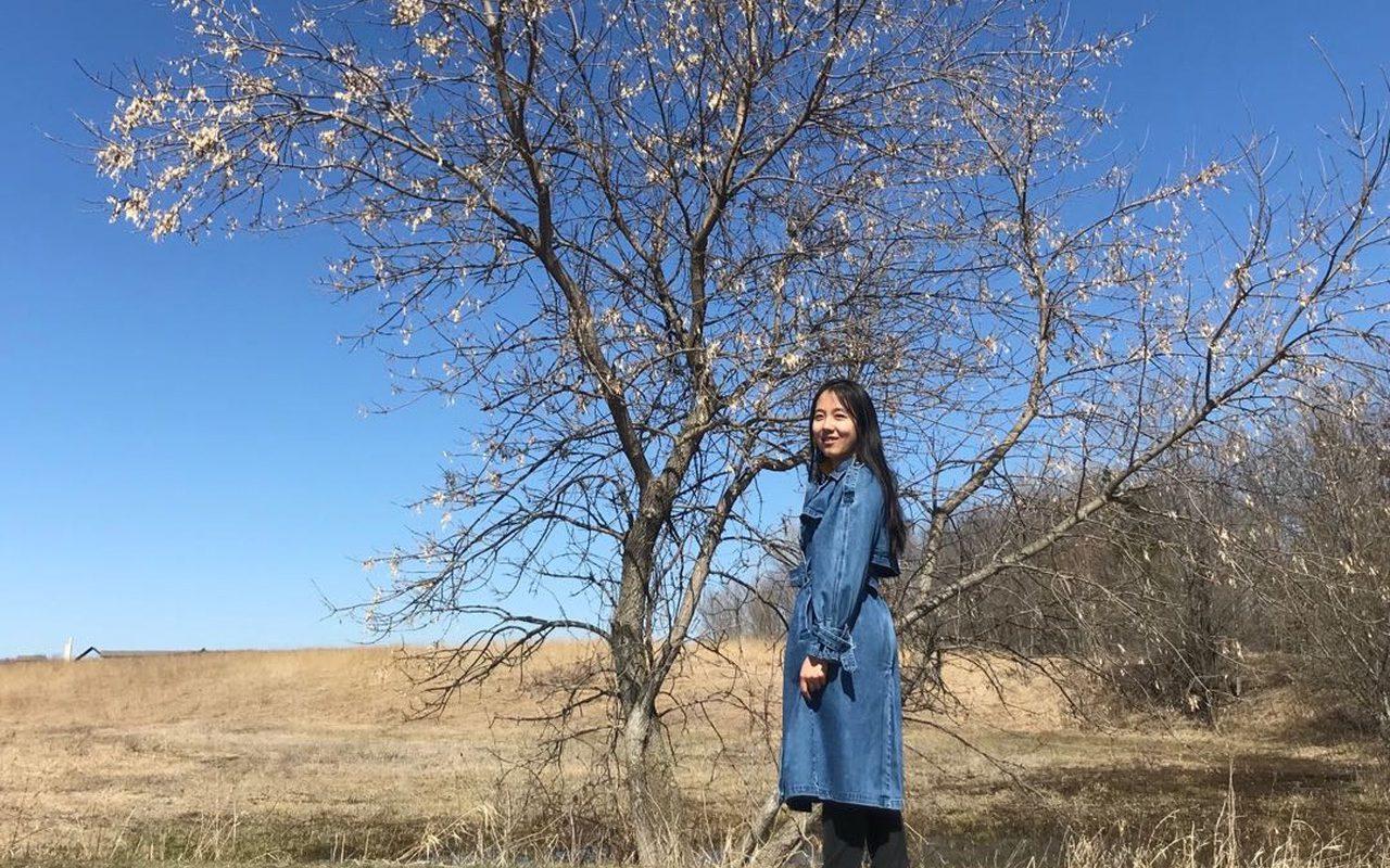 Portrait of Jiayi Wang '21