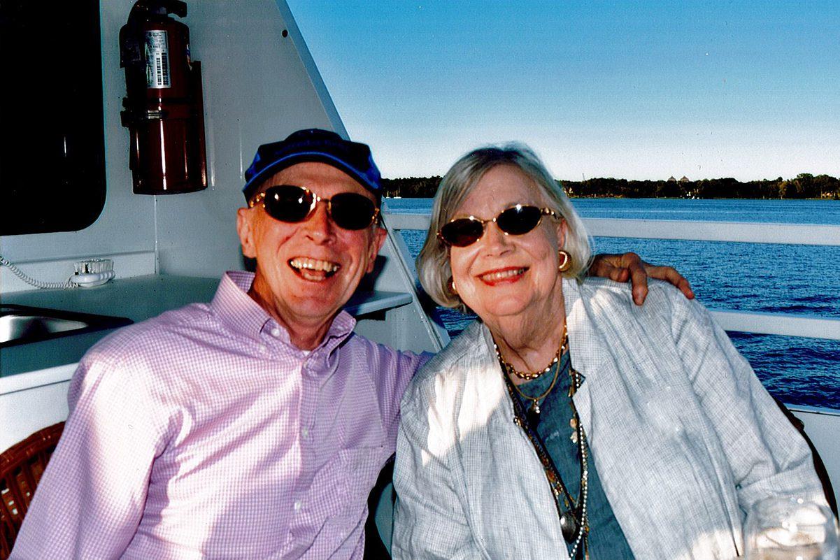 Dave Tweet '58 and Janice Johnson Tweet '58