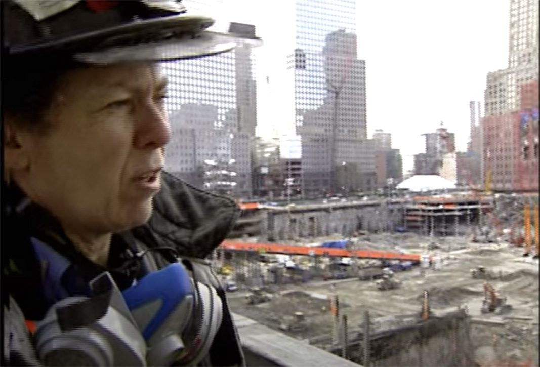 Brenda Berkman '73 at Ground Zero.