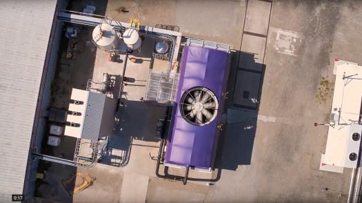 Direct Air Capture pilot plant