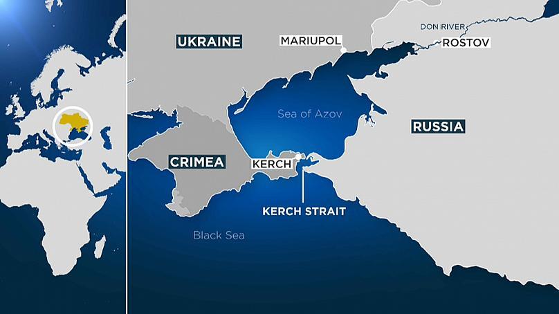 Importancia del estrecho de Kerch para Rusia y Ucrania | Noticias | teleSUR