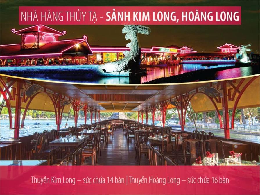 thuyền rồng Thanh Long và Hoàng Long