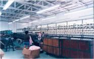 Fiação – Máquina carregada de lãs – Retorcedeira. Ano 1994.