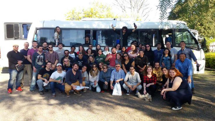 Viagem do Curso de Geografia (ICH) para participação de visita técnica em Santana do Livramento/RS.