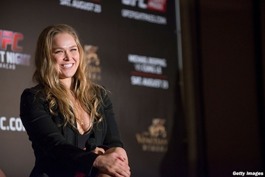 UFC 184's Ronda Rousey weighs in on promotion's new drug ...