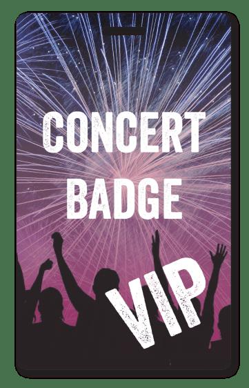 Concert Badge