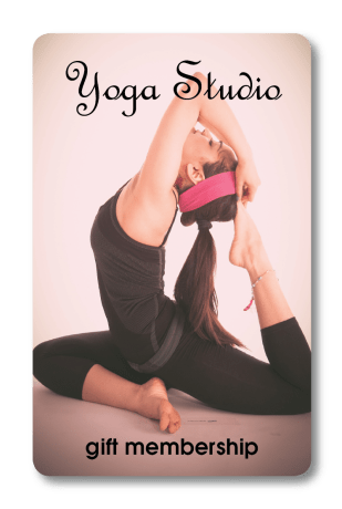 yoga fitness gift card
