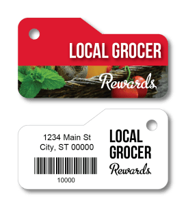 grocery rewards key tags