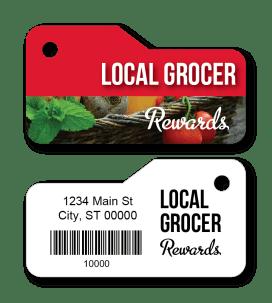 Grocery Rewards Key Tags