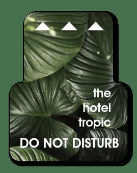 Hotel Lock Insert Card