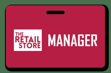retail employee badge