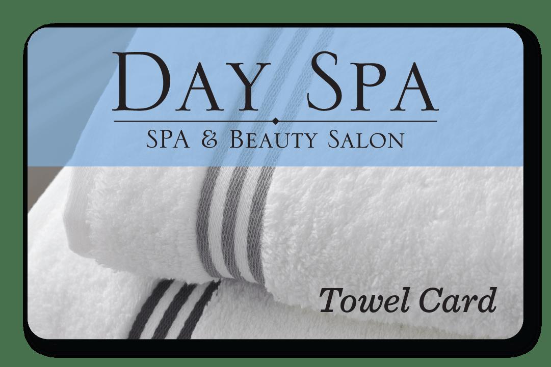 Spa and Salon Towel Card