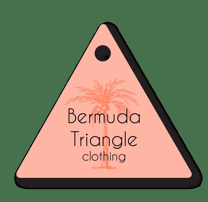 "Triangle Clothing Tag (2""x1.75"")"