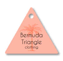 "Triangle Clothing Tag (2""x1.75"")"