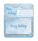 Holiday Gift Snowflake Hanging Carrier