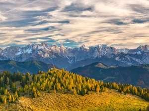 Die Alpen sind für europäische Zugvögel eine natürliche Barriere, die oft umflogen wird, © domelaci / Pixabay
