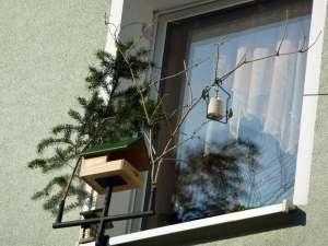 So sieht der fertige Fensterfutterplatz aus, © Birgit Kästner