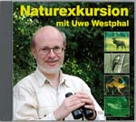 Cover der CD 'Naturexkursion mit Uwe Westphal'