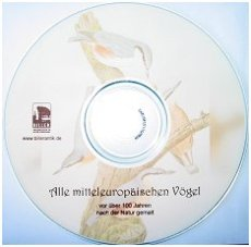 CD 'Alle mitteleuropäischen Vögel'