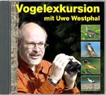 Cover der CD 'Vogelexkursion mit Uwe Westphal'