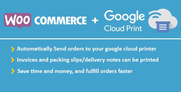 WooCommerce Google Cloud Print | Woocommerce Automatic Order Printing